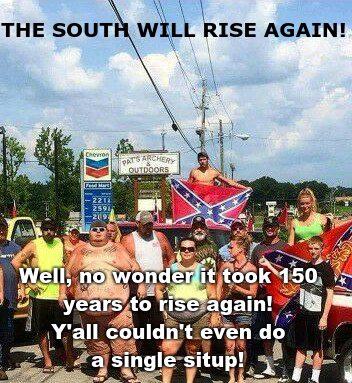 The South - meme