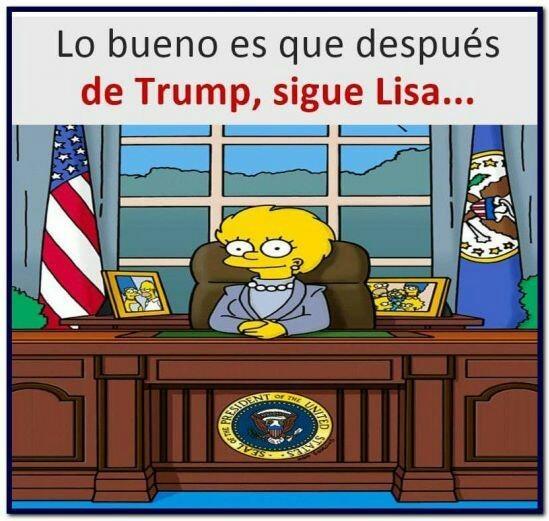 Lisa presidente - meme