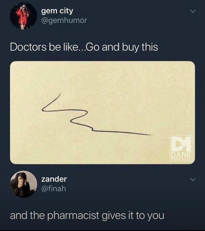 How can pharmacists understand? - meme
