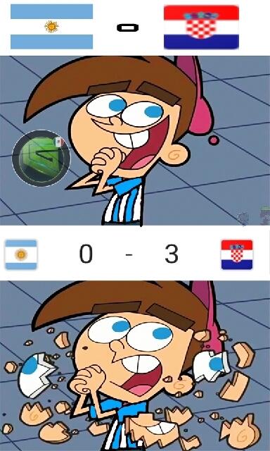 Me compadezco argentina - meme