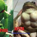 before and after swole