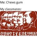 Communist classmates