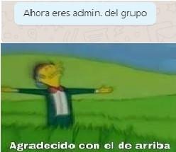 yo soy el admin - meme