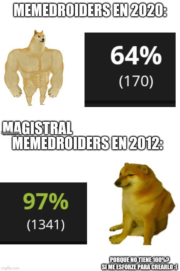 2020 vs 2012 - meme
