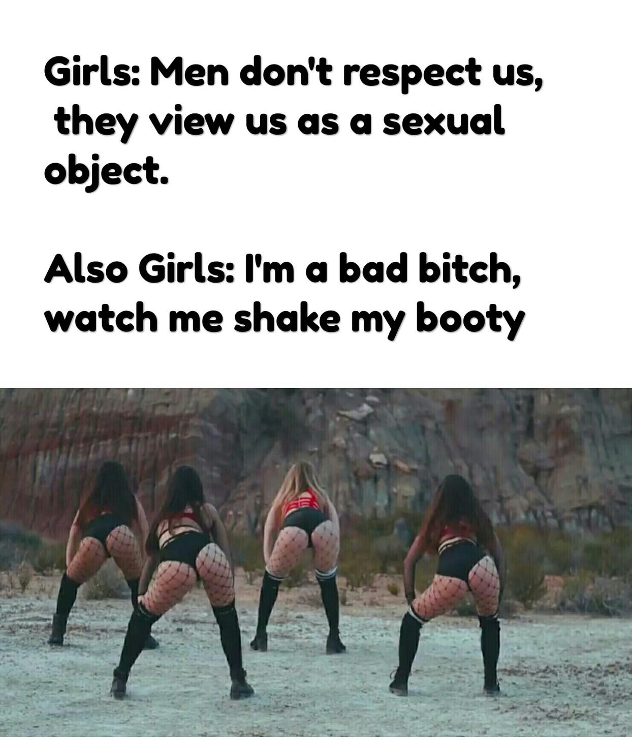 Feminist logic - meme
