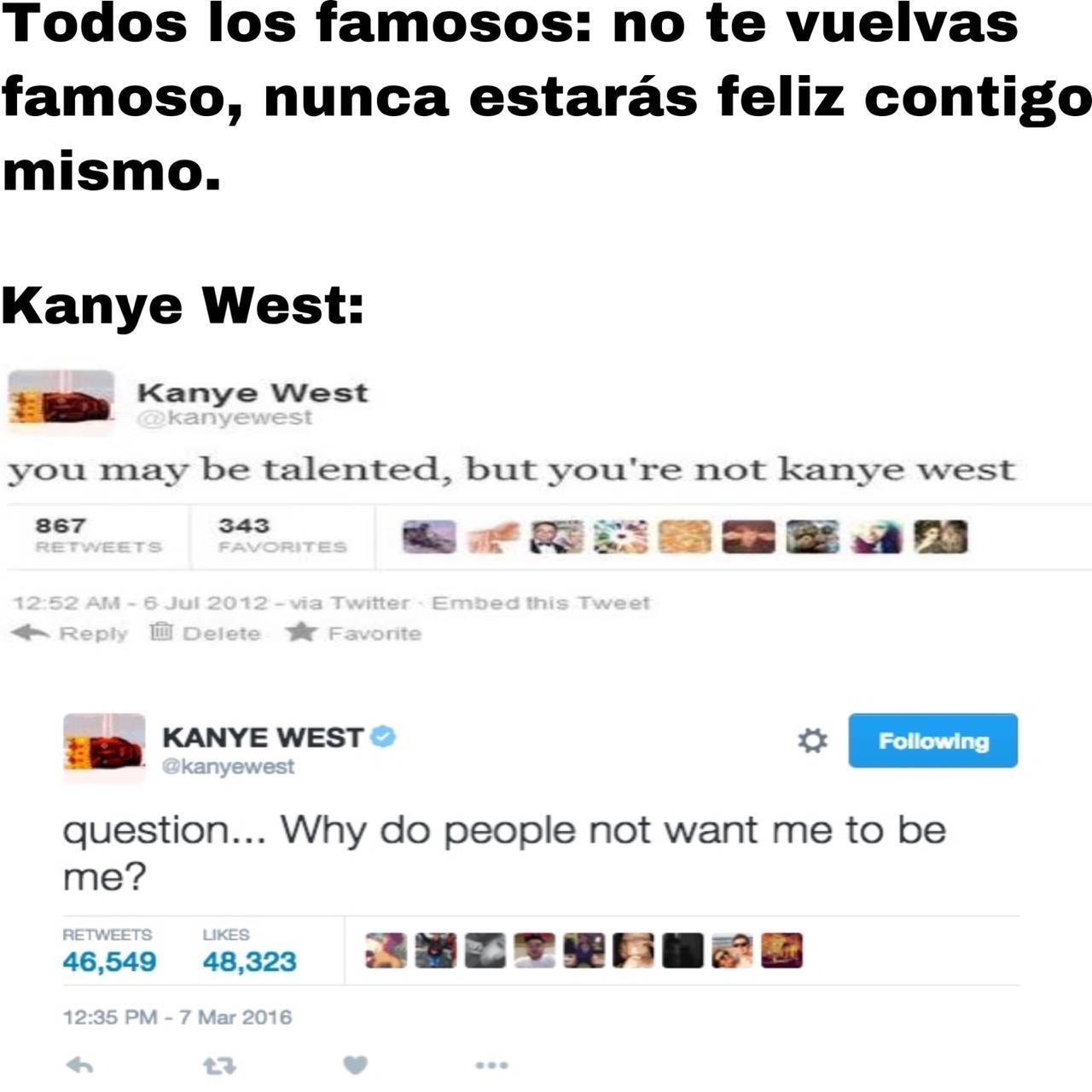 Kanye West, un capo - meme