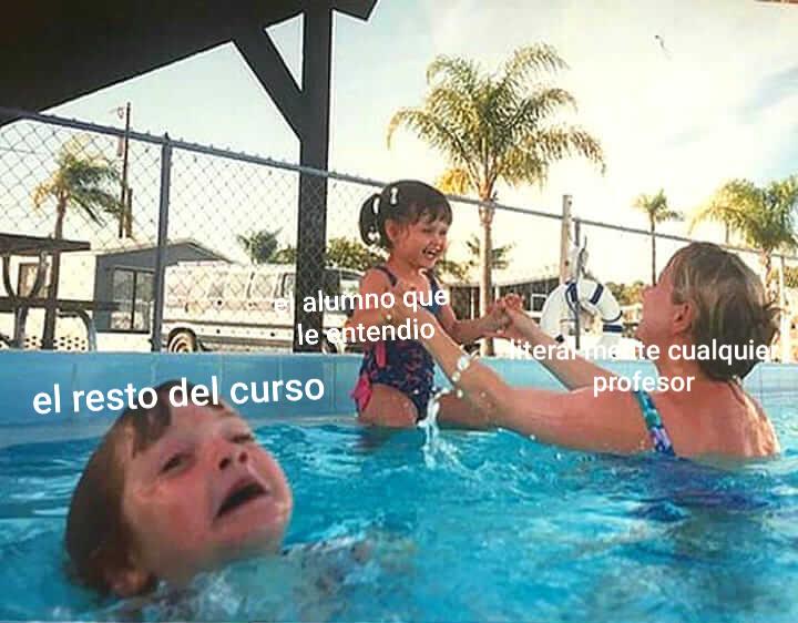 Los profes - meme