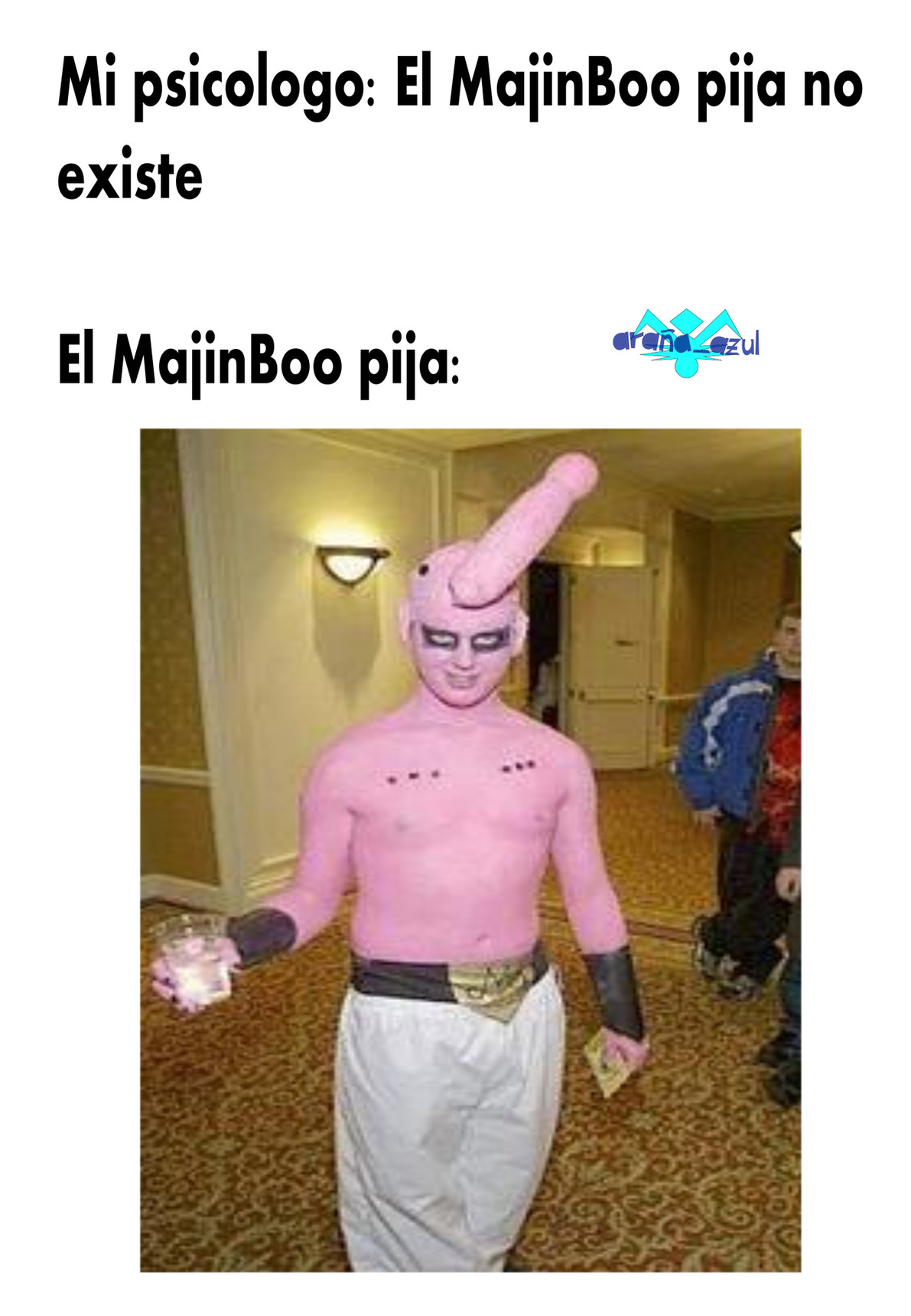 Majin boo pija - meme