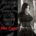I'd say she's got two doses of the cure I'd want