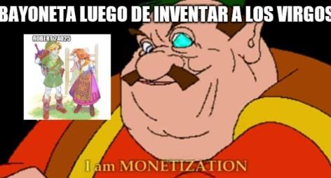 Yo soy la monetización - meme