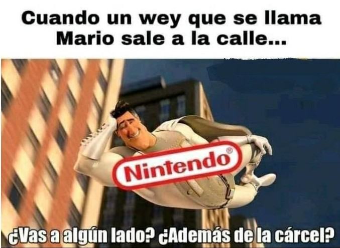 Simplemente Nintendo - meme