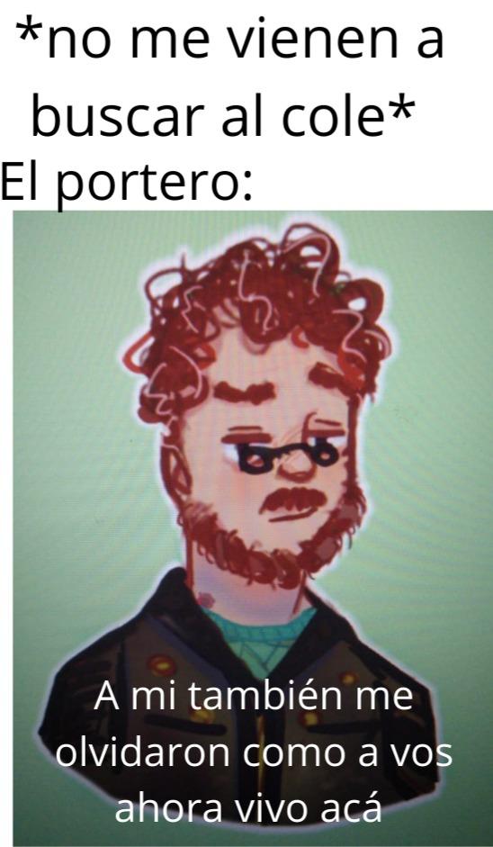 El dibujo es de un friend - meme
