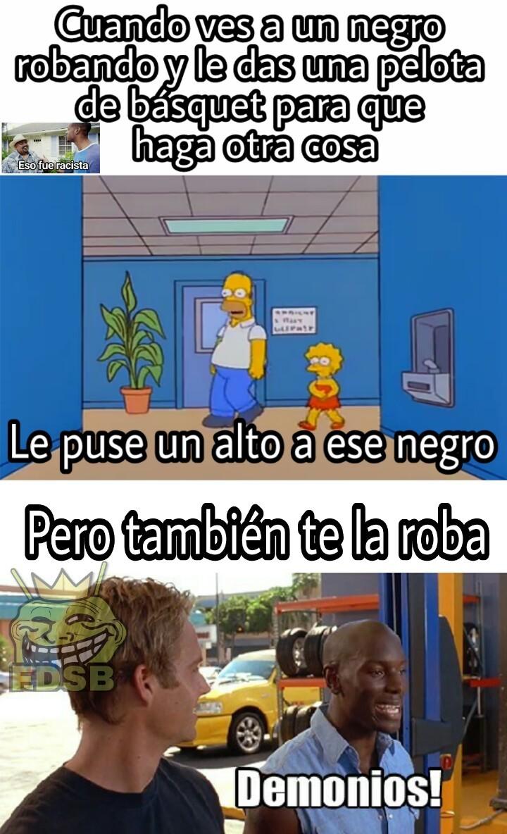 Negros = Basquetbolista (plantilla nueva) - meme