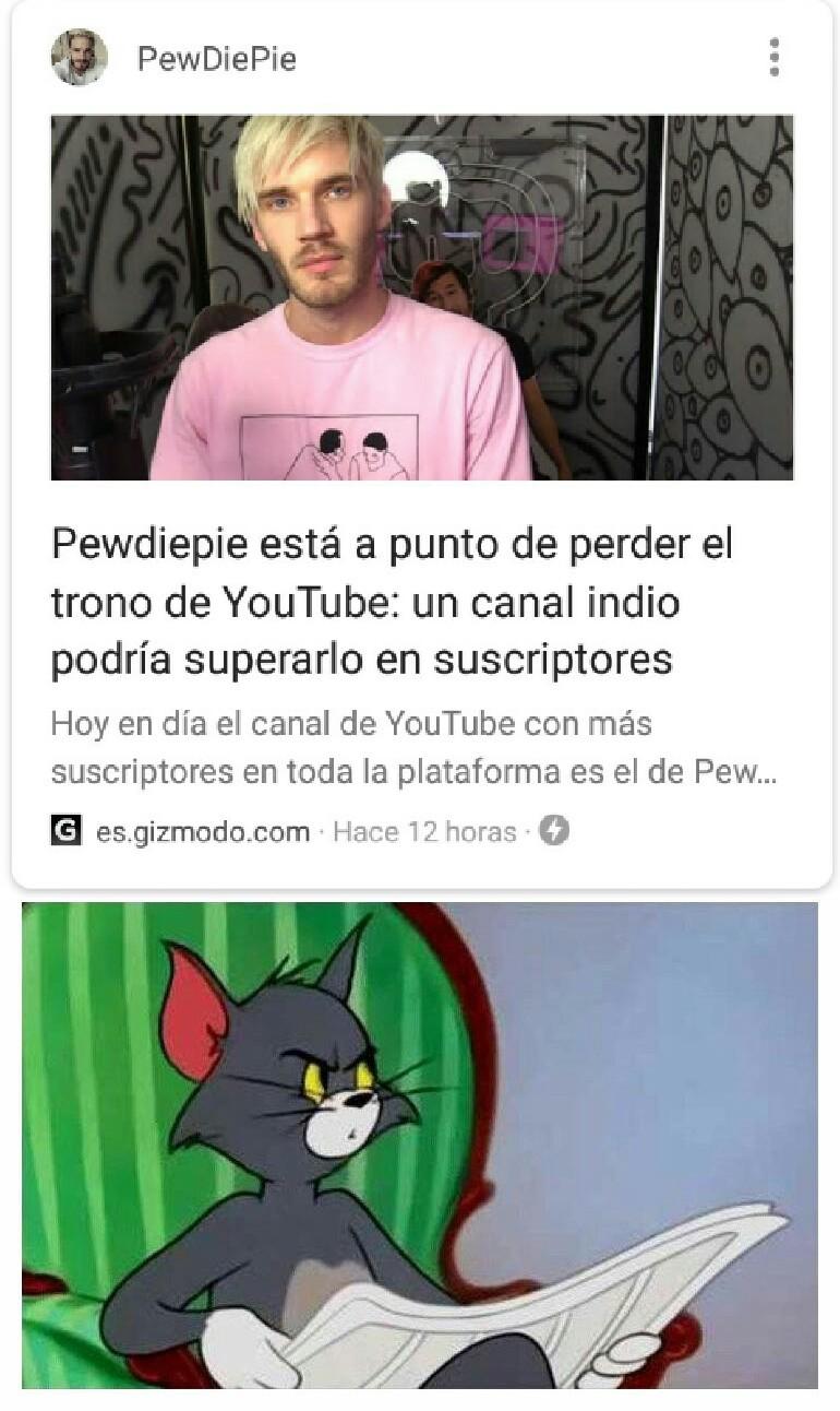 El canal se llama T-series - meme
