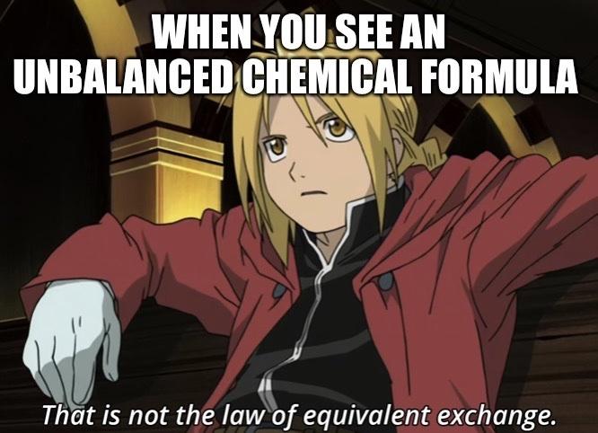 Chemistry Meme