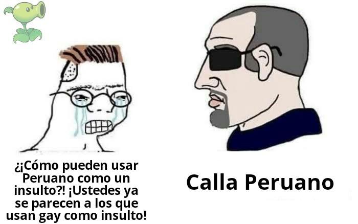 El titulo es Peruano - meme