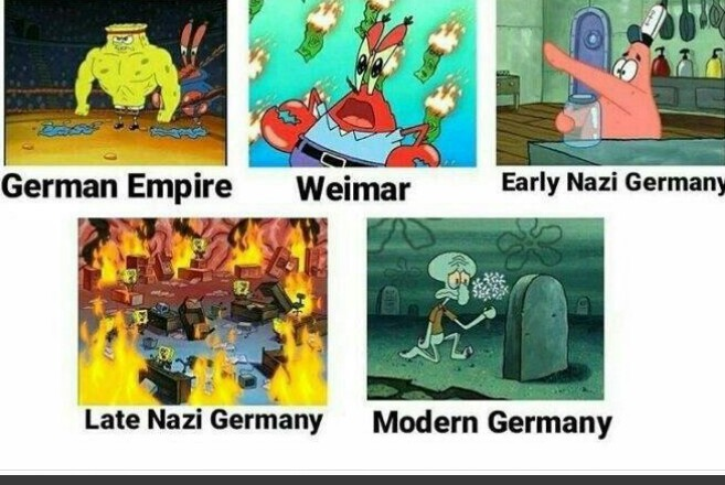 Germany in a nutshell - meme
