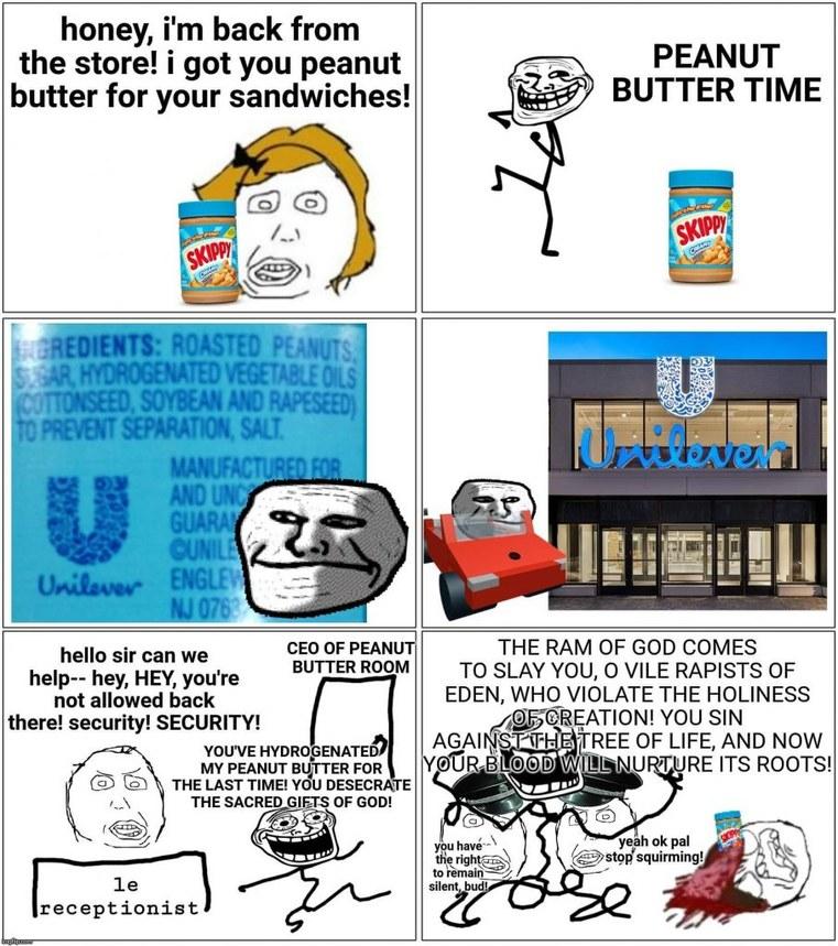 Penus butter - meme