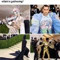 The Met Gala looks like an anime villain's gathering