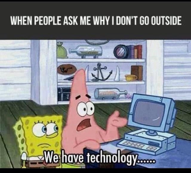 outside... - meme