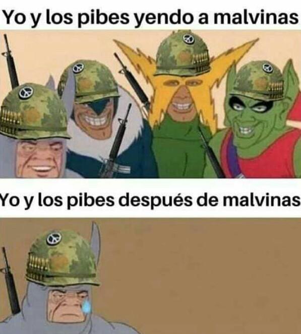 F por Argentina - meme