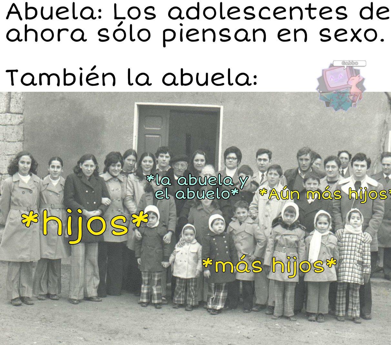 Sin ofender a LaAbuela. - meme