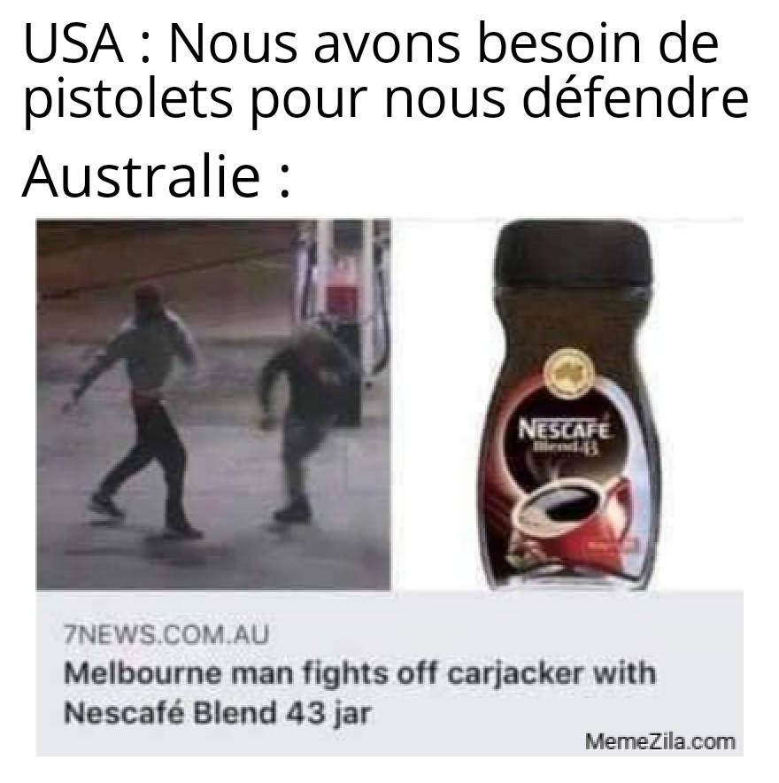 Poudre de café dans les yeux bouuum - meme
