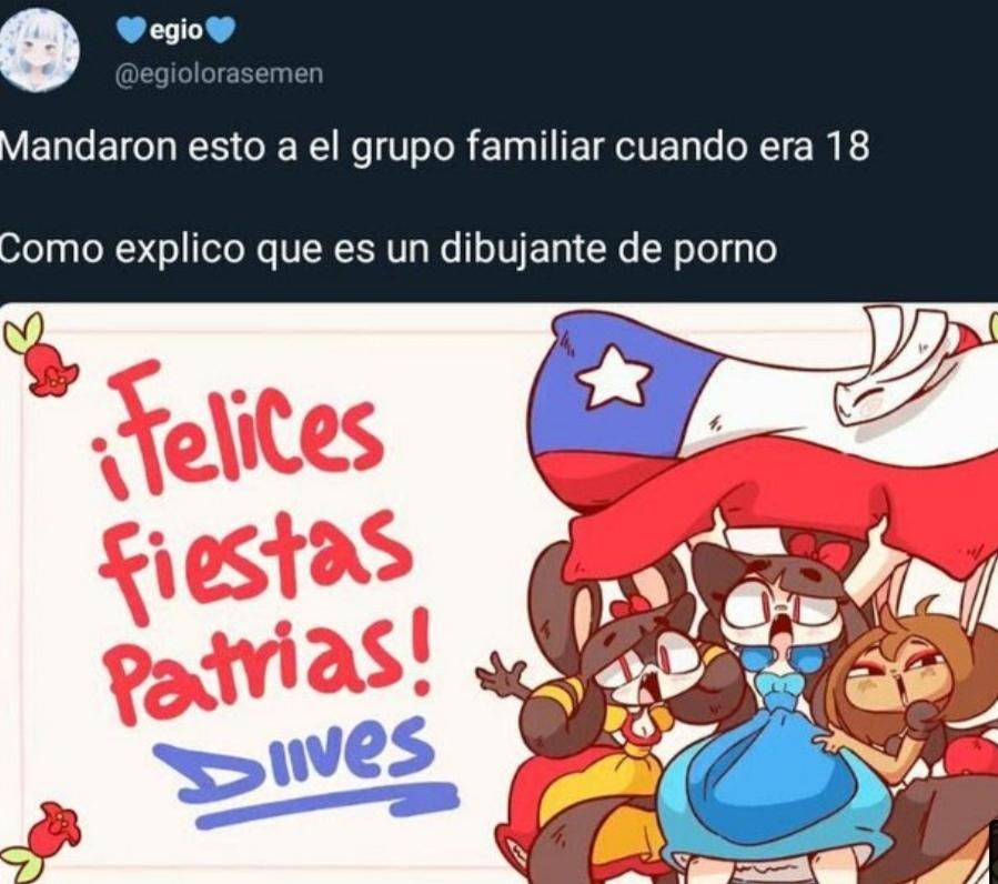Orgulloso de no ser chileno - meme