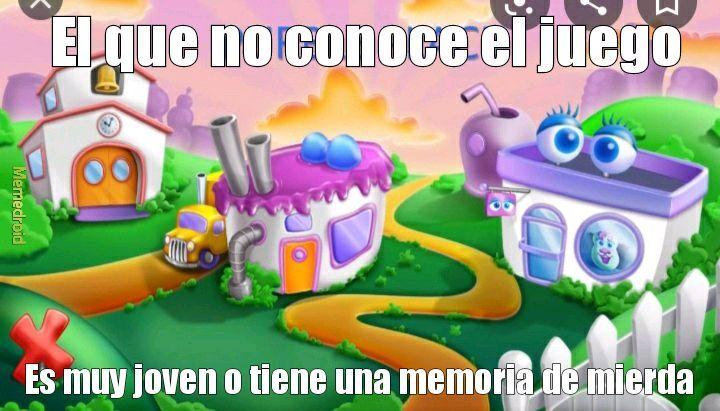 Purple place - meme