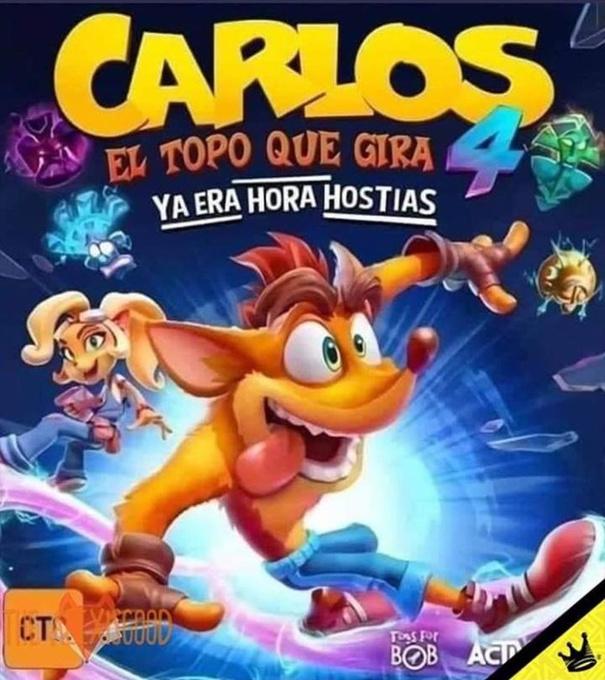Carlos el Topo - meme