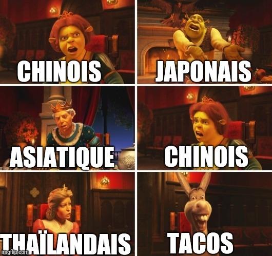 Quand tu veux manger avec tes potes - meme