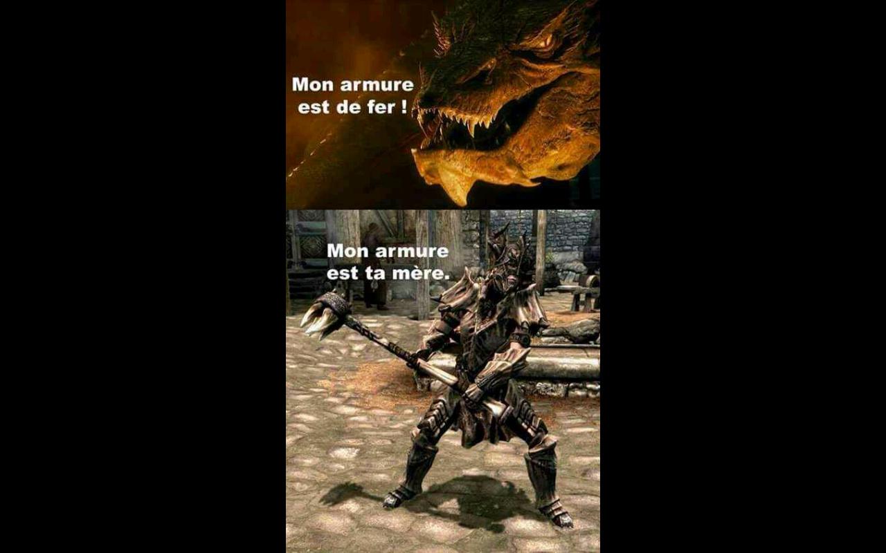 mon épée est ta sœur - meme