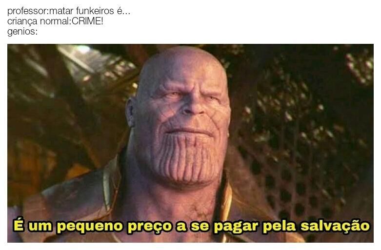 Funkeiros - meme