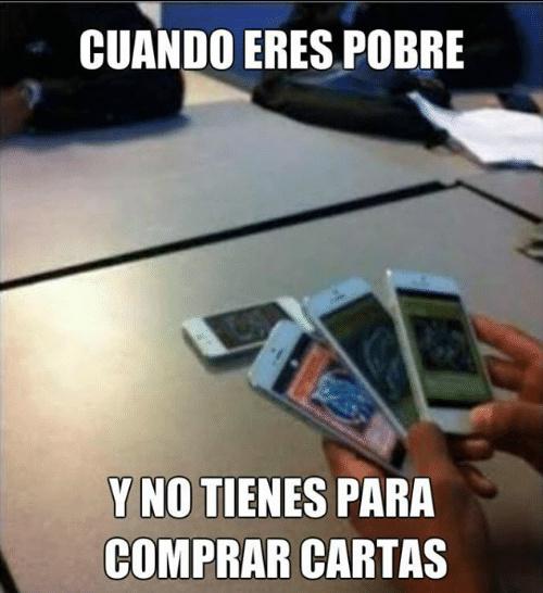 Like Si Te Gusta las Cartas - meme