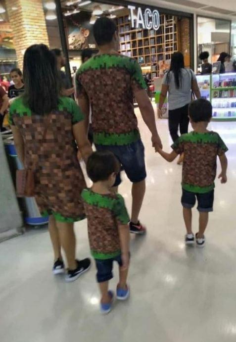 La ropa familiar perfecta no exis... - meme