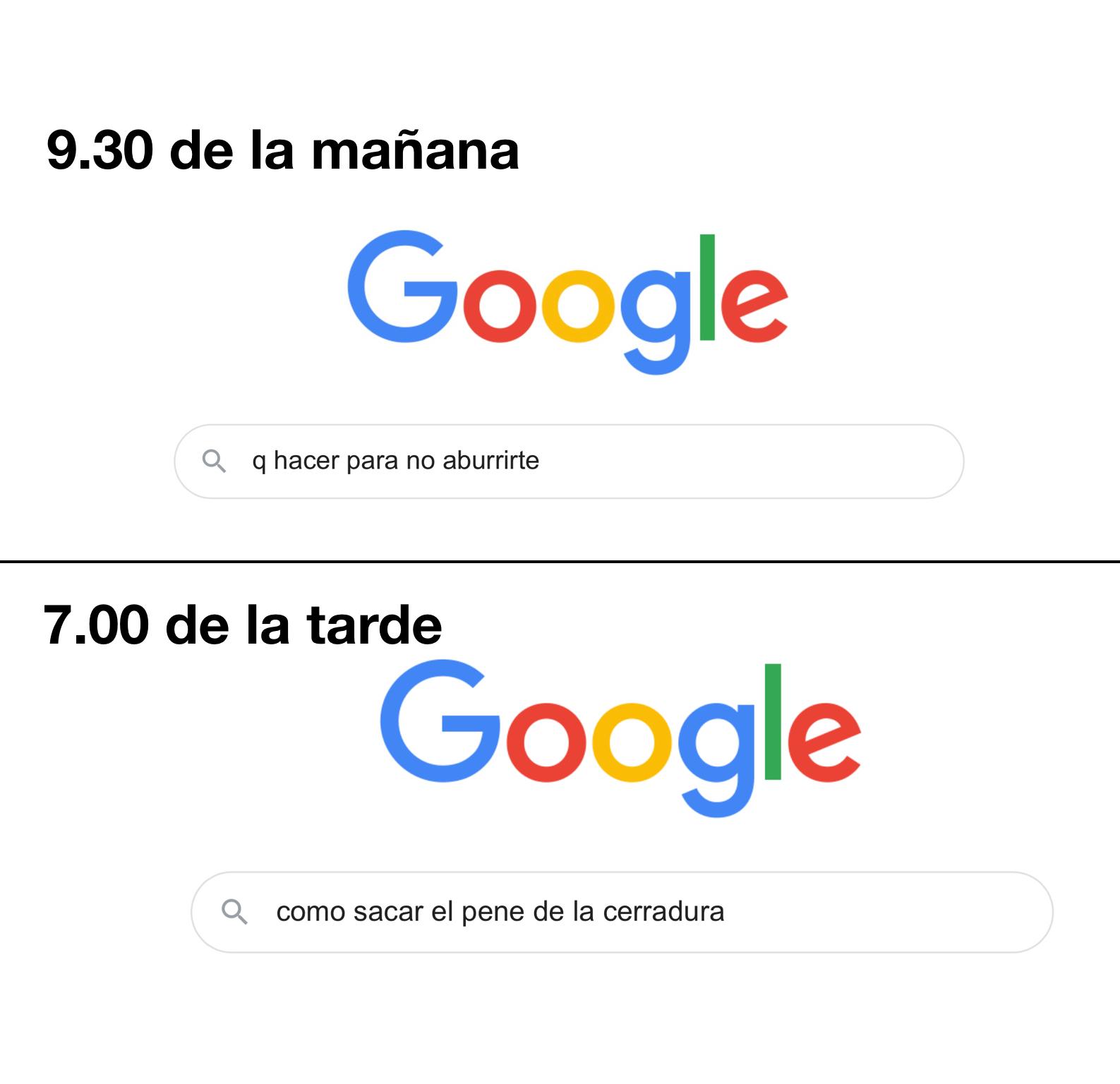 Google fuks - meme