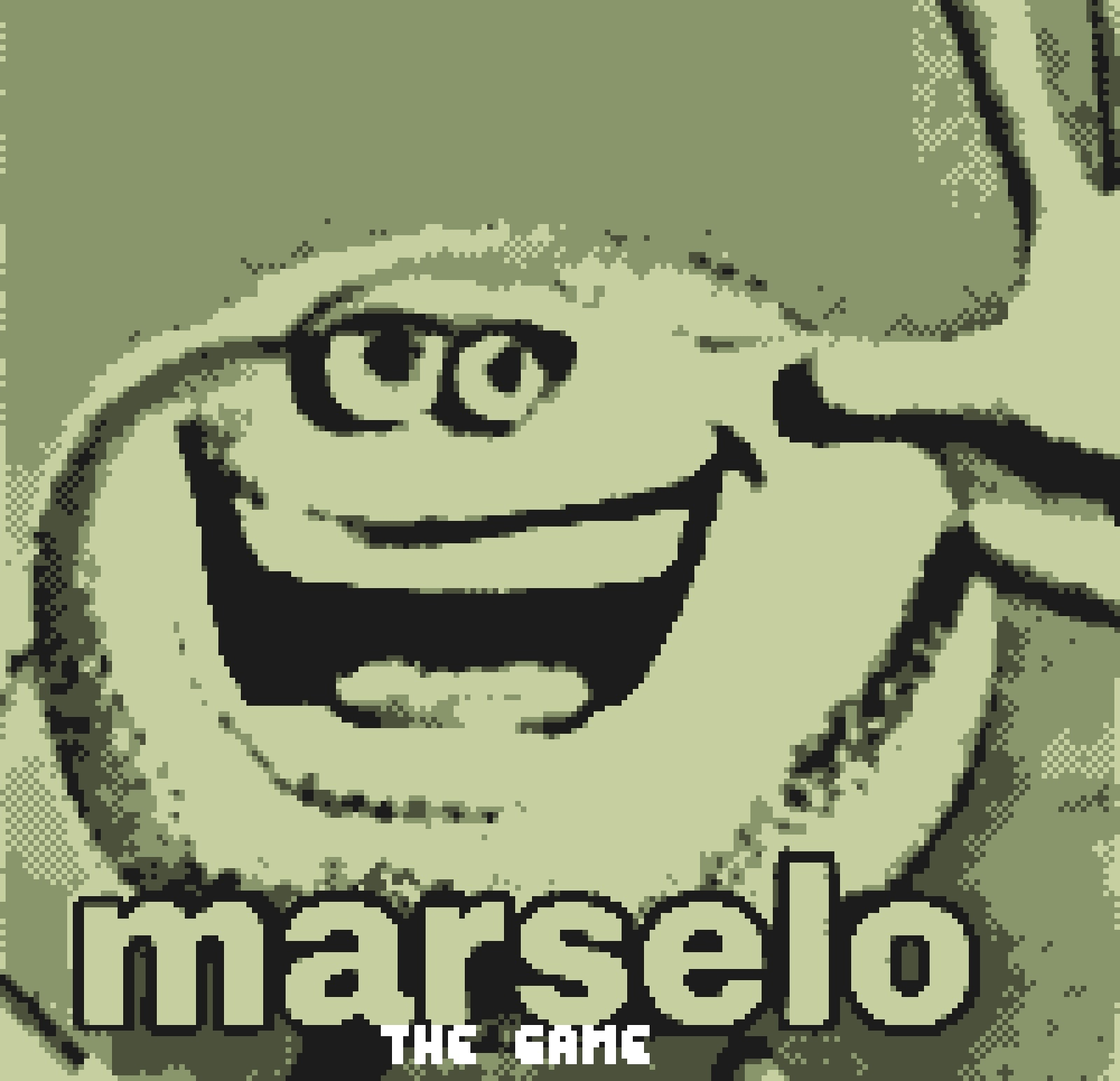 Marcelo para la Game Boy - meme