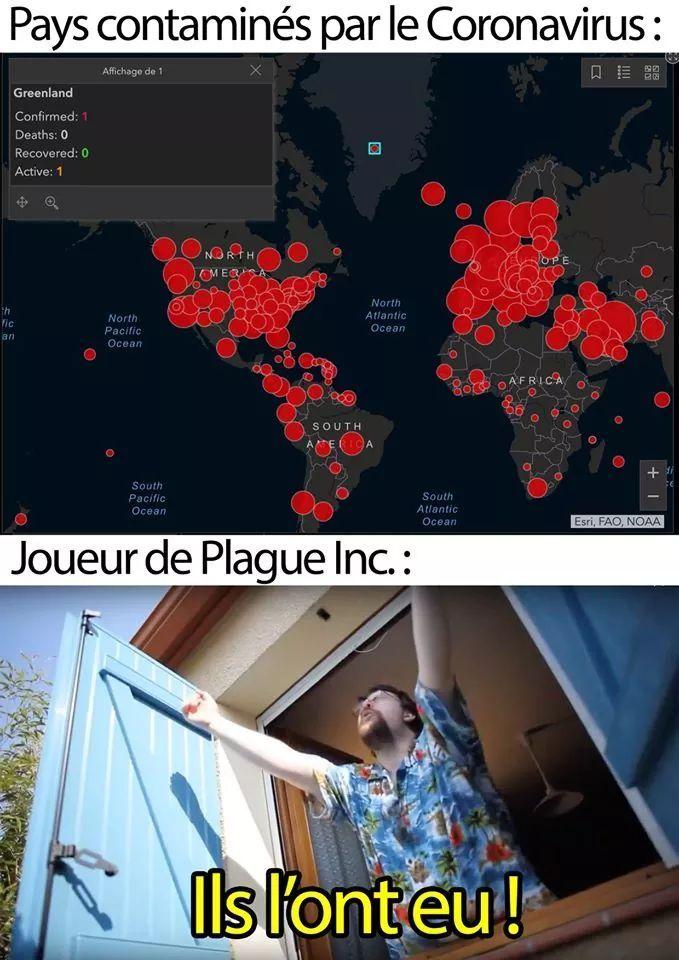 Site en ligne : gisanddata covid-19 - meme