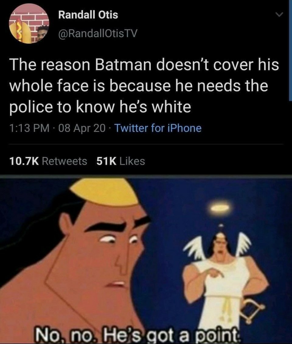 He does - meme