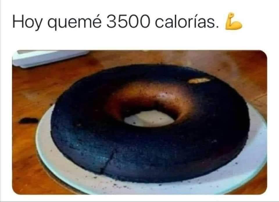 Calorías - meme