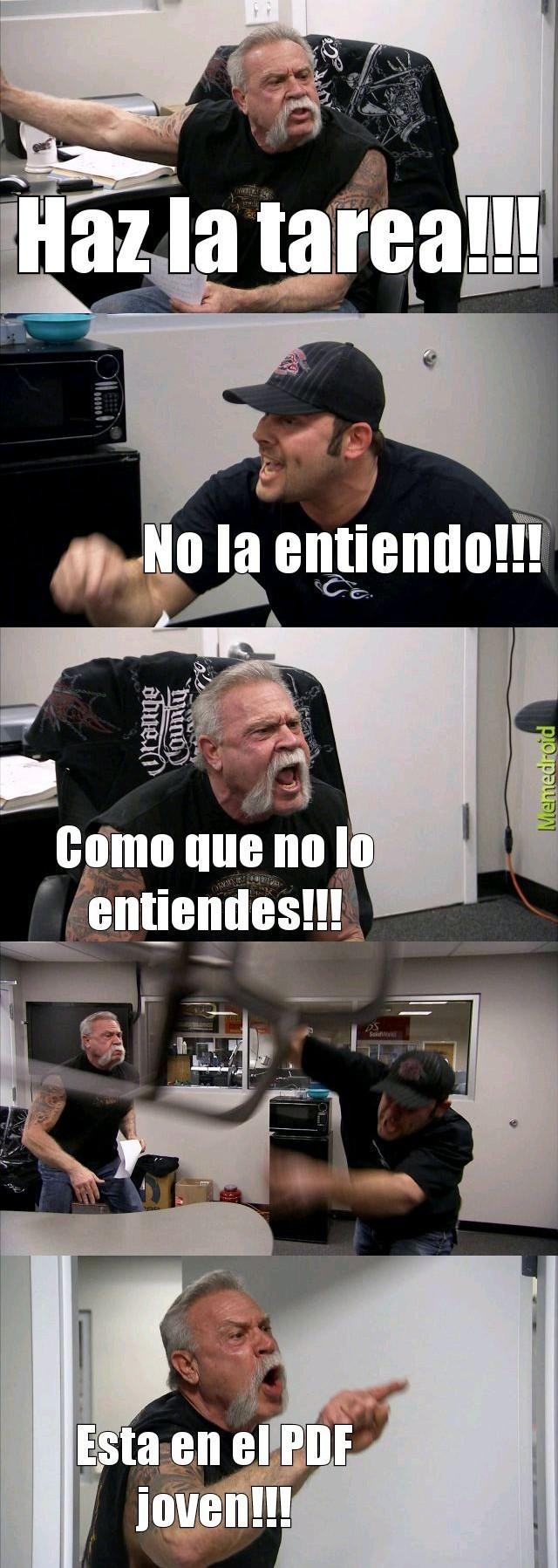 Lea el PDF - meme