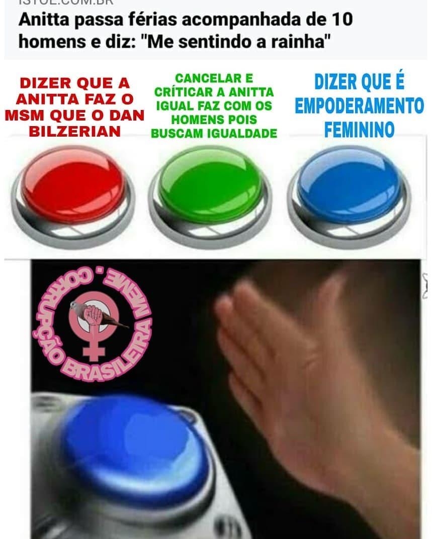 A mais puta do Brasil (repost não passar) - meme