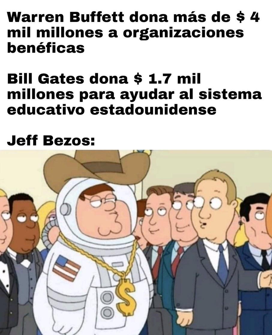Cosas de millonarios que los latinoamericanos jamás entenderemos - meme