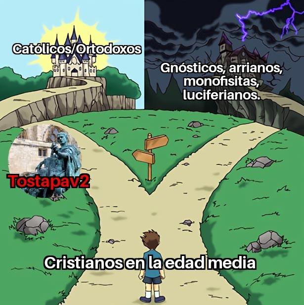 Cristianismo - meme