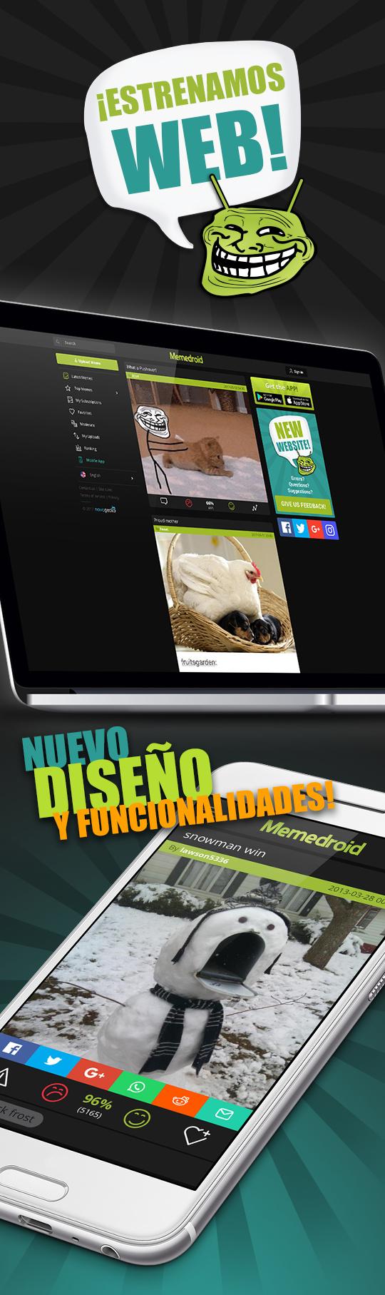 Nueva web! :) - meme