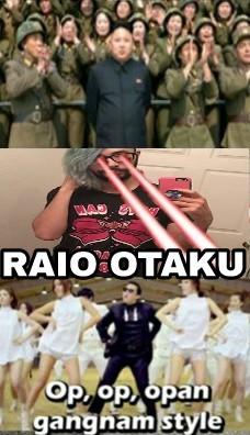 O único e melhor feito dos otakus - meme