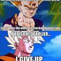 Goku, always the trend breaker