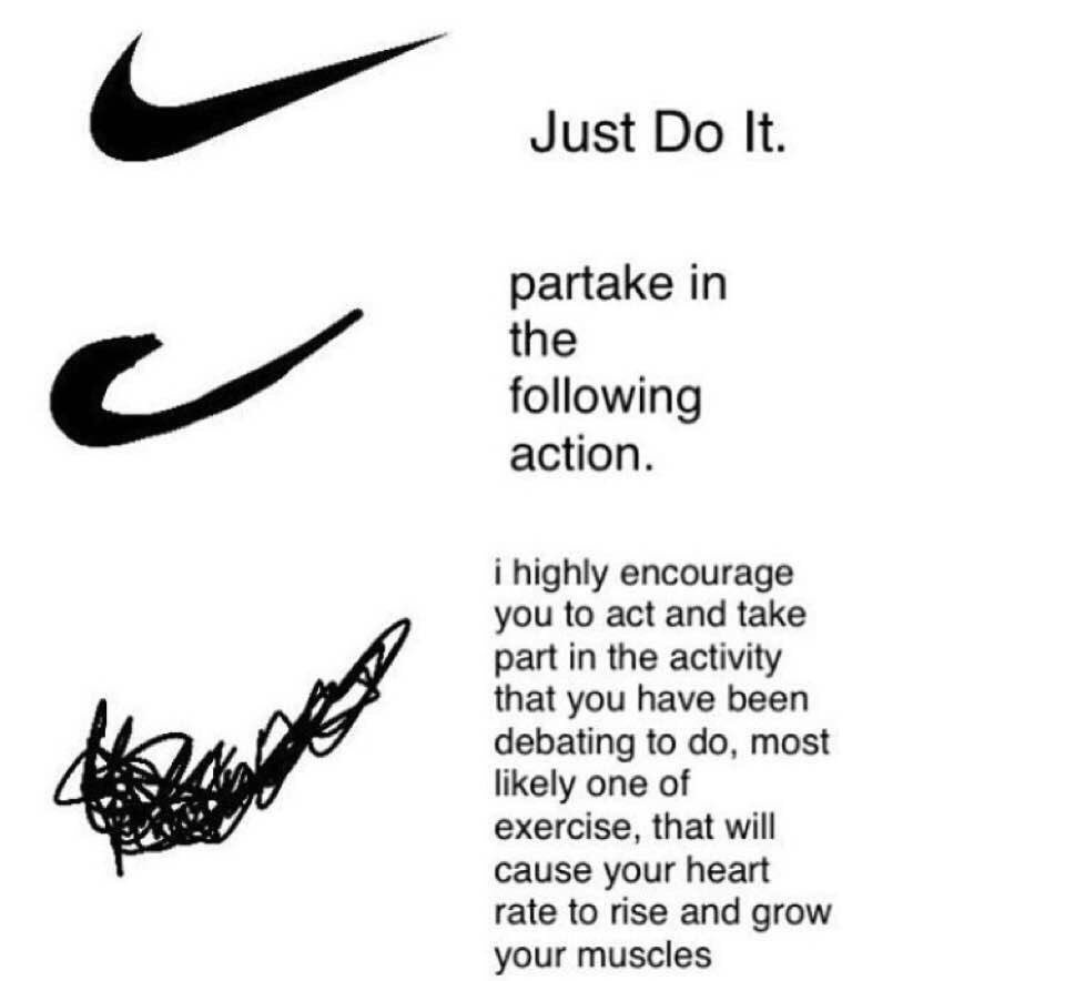 Just do it - meme