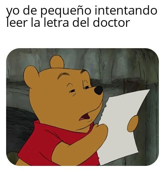 No es de insultar a los doctores - meme