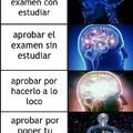 como yo aprobe el examen
